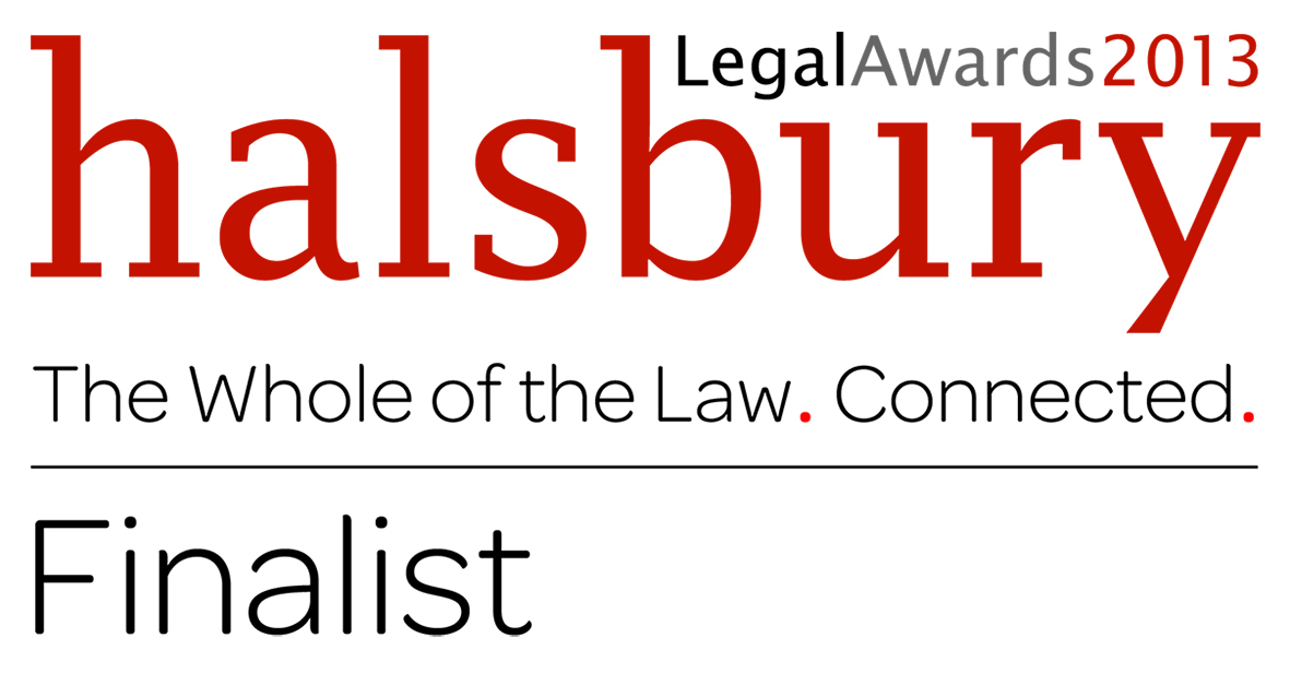 Halsbury Legal Awards 2013