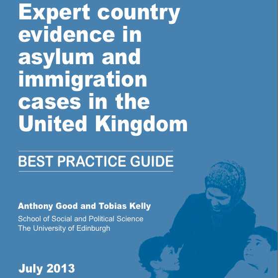 Best practice guide for country experts in immigration cases