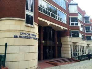 Taylor House hearing centre in London