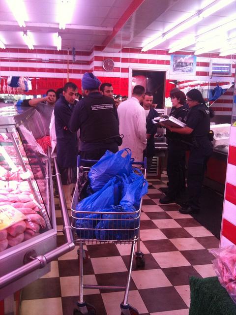 Home Office raid on butchers