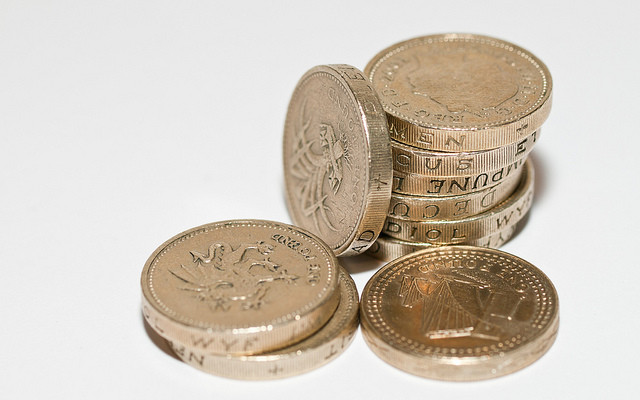 Pound Coins by William Warby