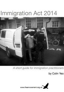 Want to know more about the Immigration Act 2014? Click to find out more.