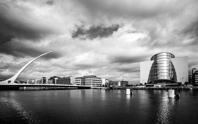 Dublin, a beautiful, thriving city that is sick of being associated with Italy's inability to house refugees. Image by Roberto Taddeo, on Flickr