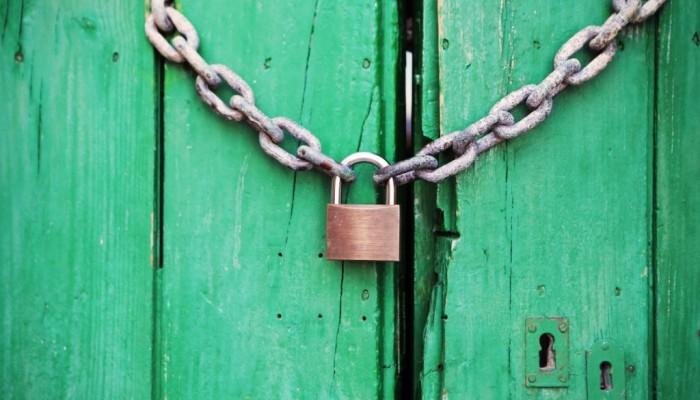 lock padlock closed private