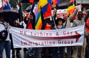 UKLGIG demo banner