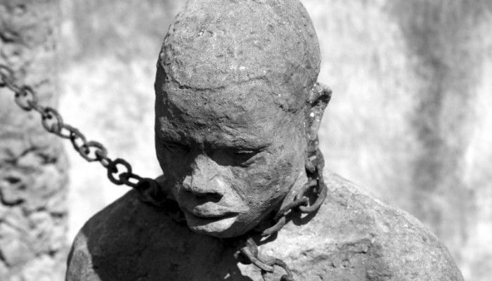 Slavery shackles trafficking
