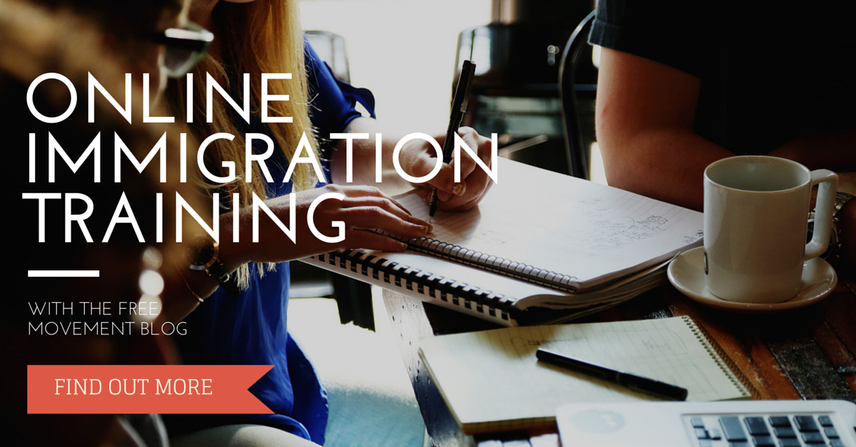 ONLINE IMMIGRATION TRAINING