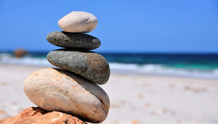 balance stones precarious