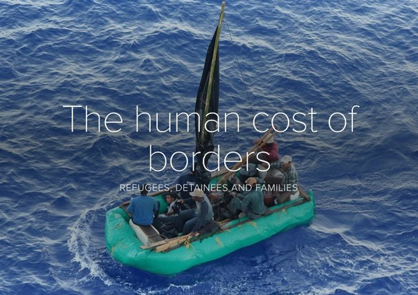TEDx talk video: The Human Cost of Borders