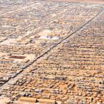 Za'atri Refugee Camp for Syrian refugees in Jordan