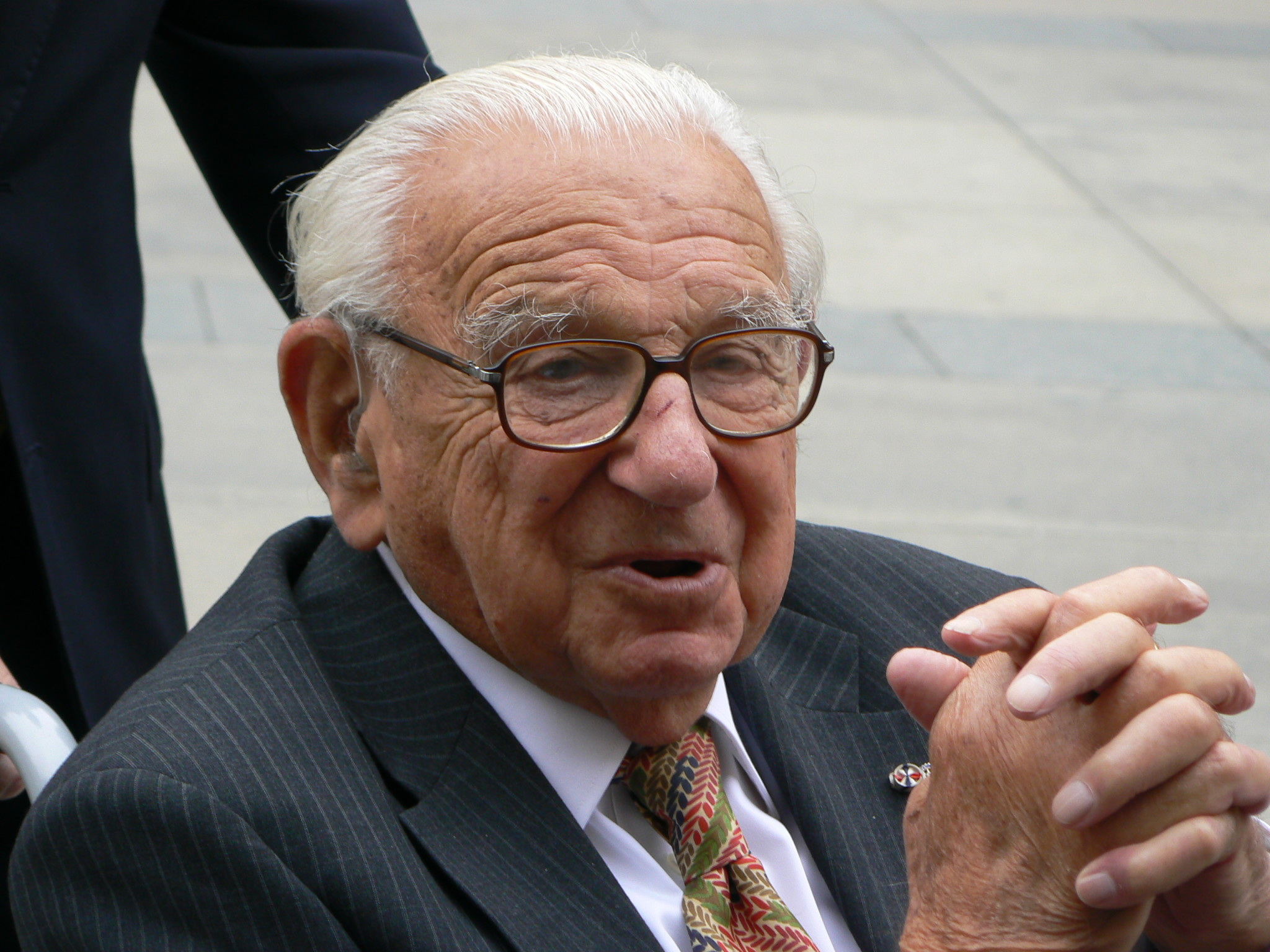 Sir Nicholas Winton and the bygone tradition of refugee welcome