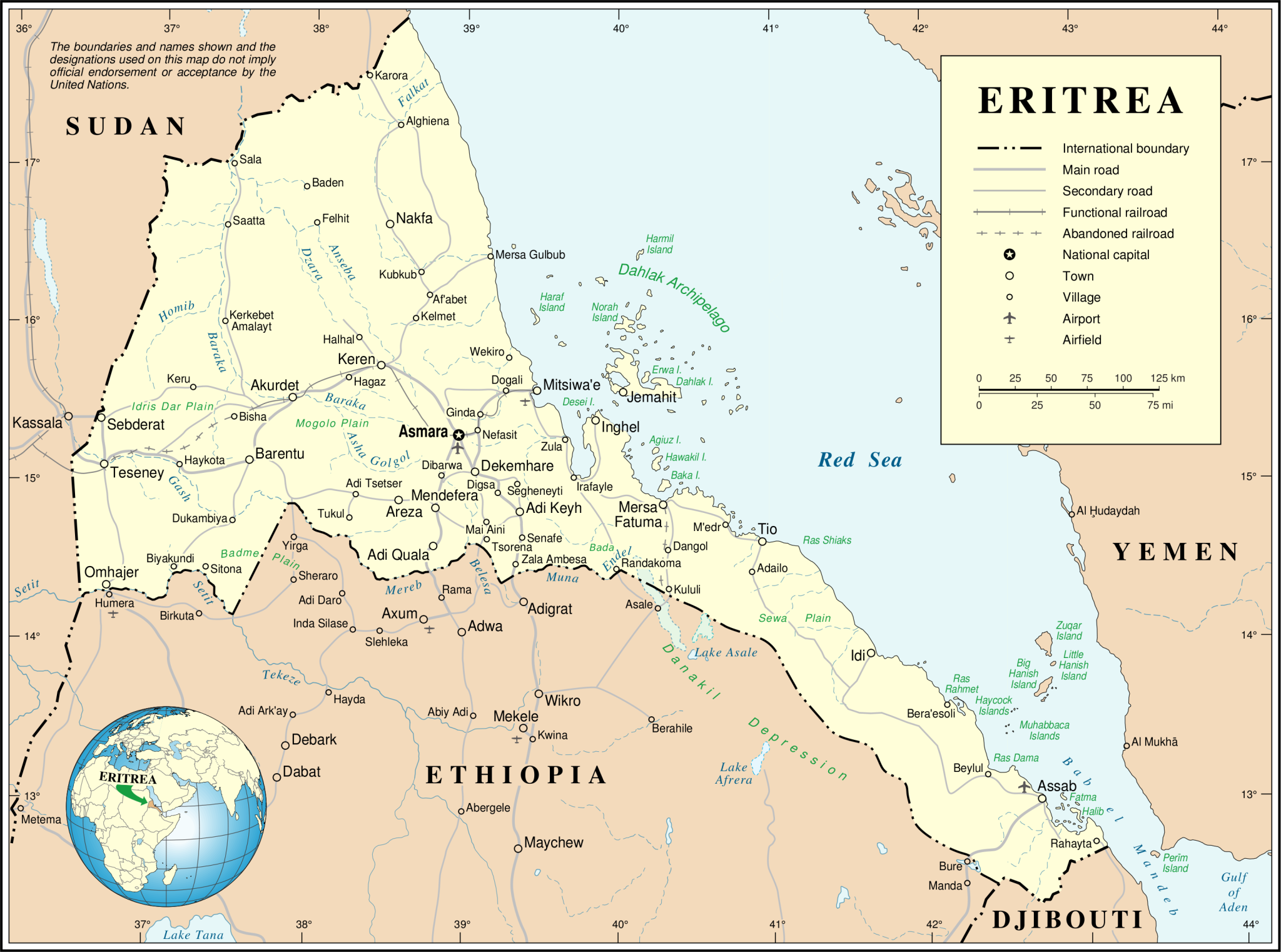 Home Office publishes new Eritrea country information and fact finding report