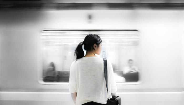 fast track train woman