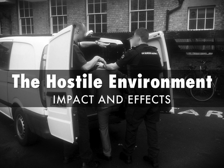 The Hostile Environment: my presentation at JUSTICE annual human rights conference