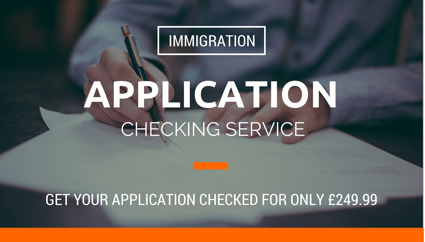 immigration application checking service