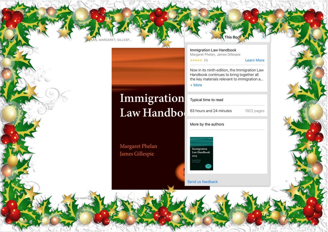 Phelan and Gillespie Immigration Law Handbook 9th edition ebook review