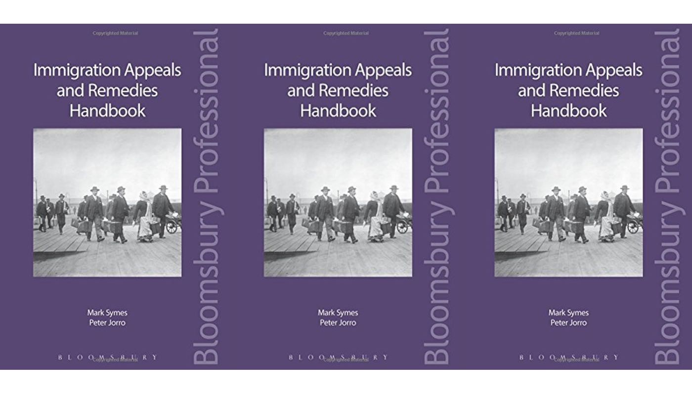 Book review: Immigration Appeals and Remedies Handbook by Symes and Jorro