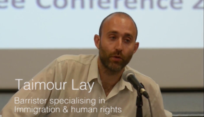 Taimour Lay on Do It Yourself fresh asylum and human rights claims: video