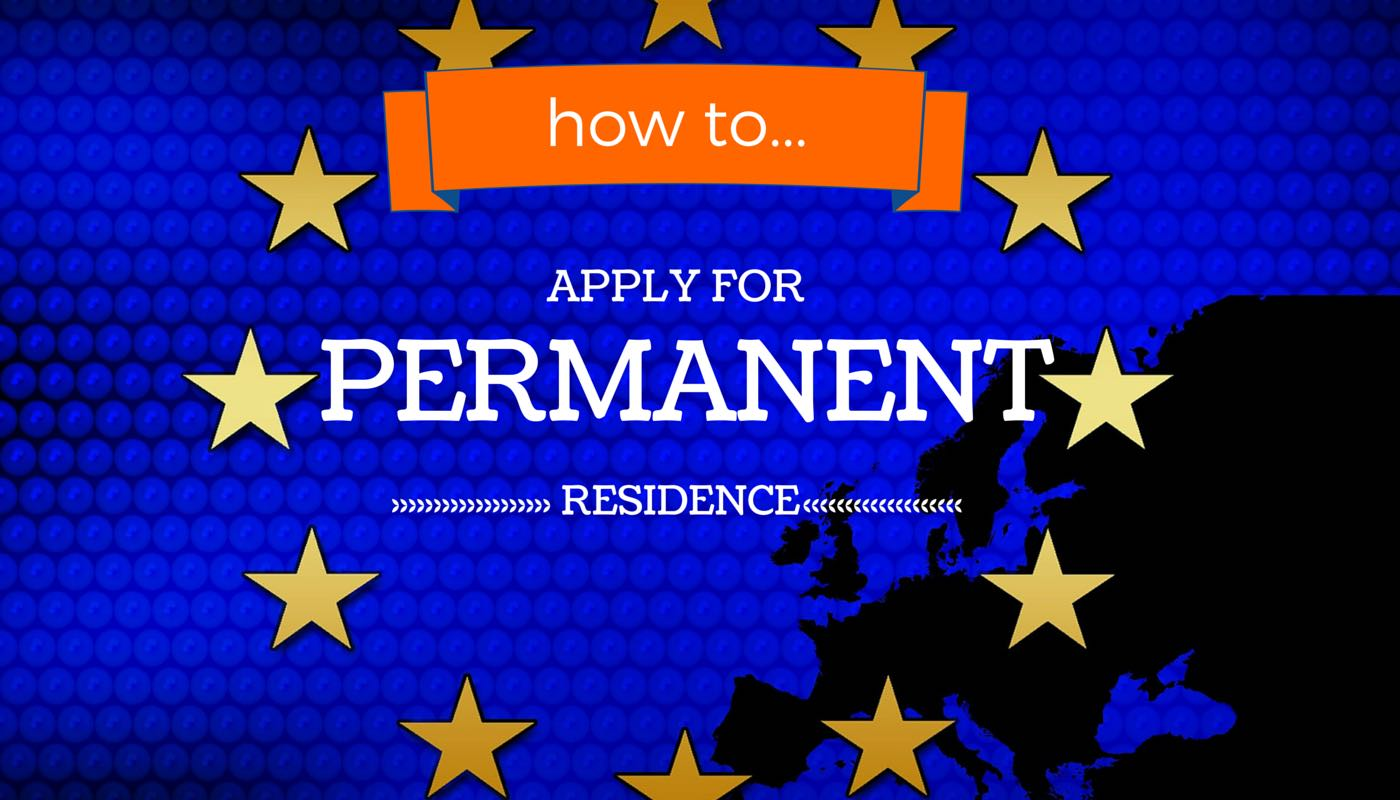 How to make a permanent residence application