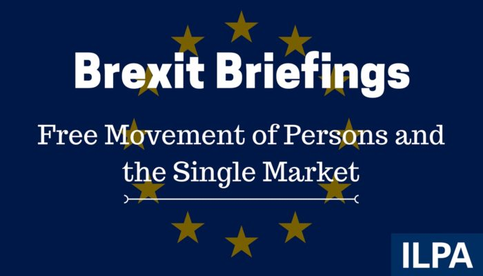 ILPA Brexit Briefings - paper 2