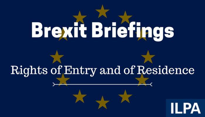 ILPA Brexit Briefings - paper 3
