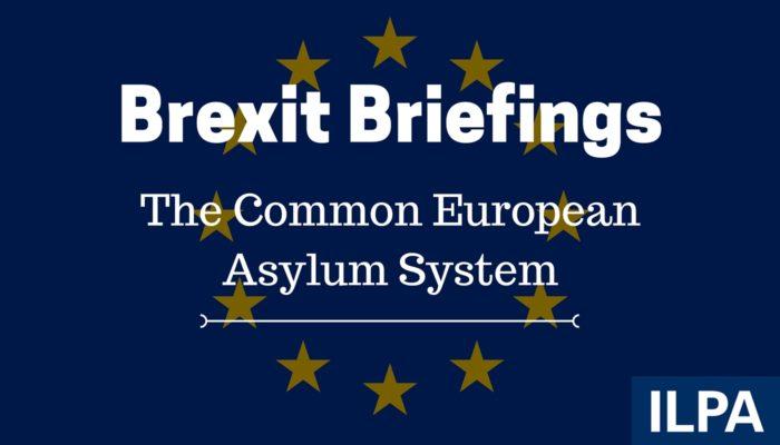 ILPA Brexit Briefings - paper 10