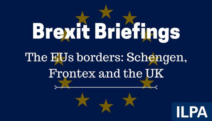 ILPA Brexit Briefings - paper 11