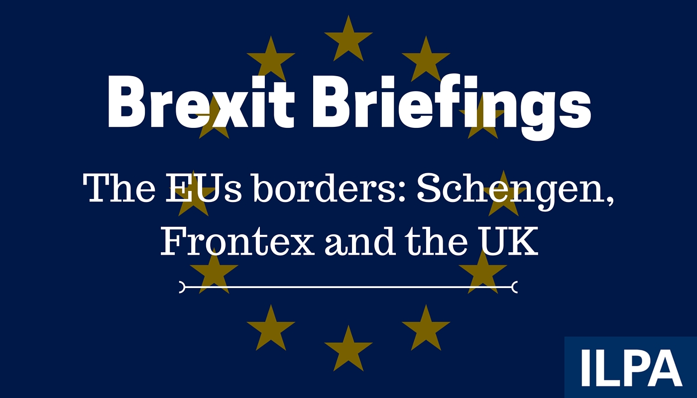 Brexit and Borders: Schengen, Frontex and the UK