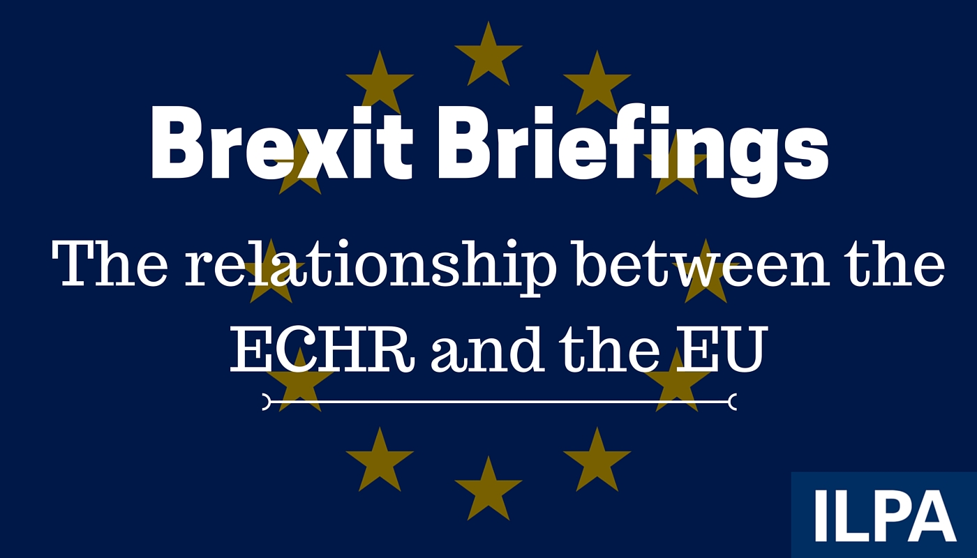 Brexit briefing: Relationship between ECHR and EU