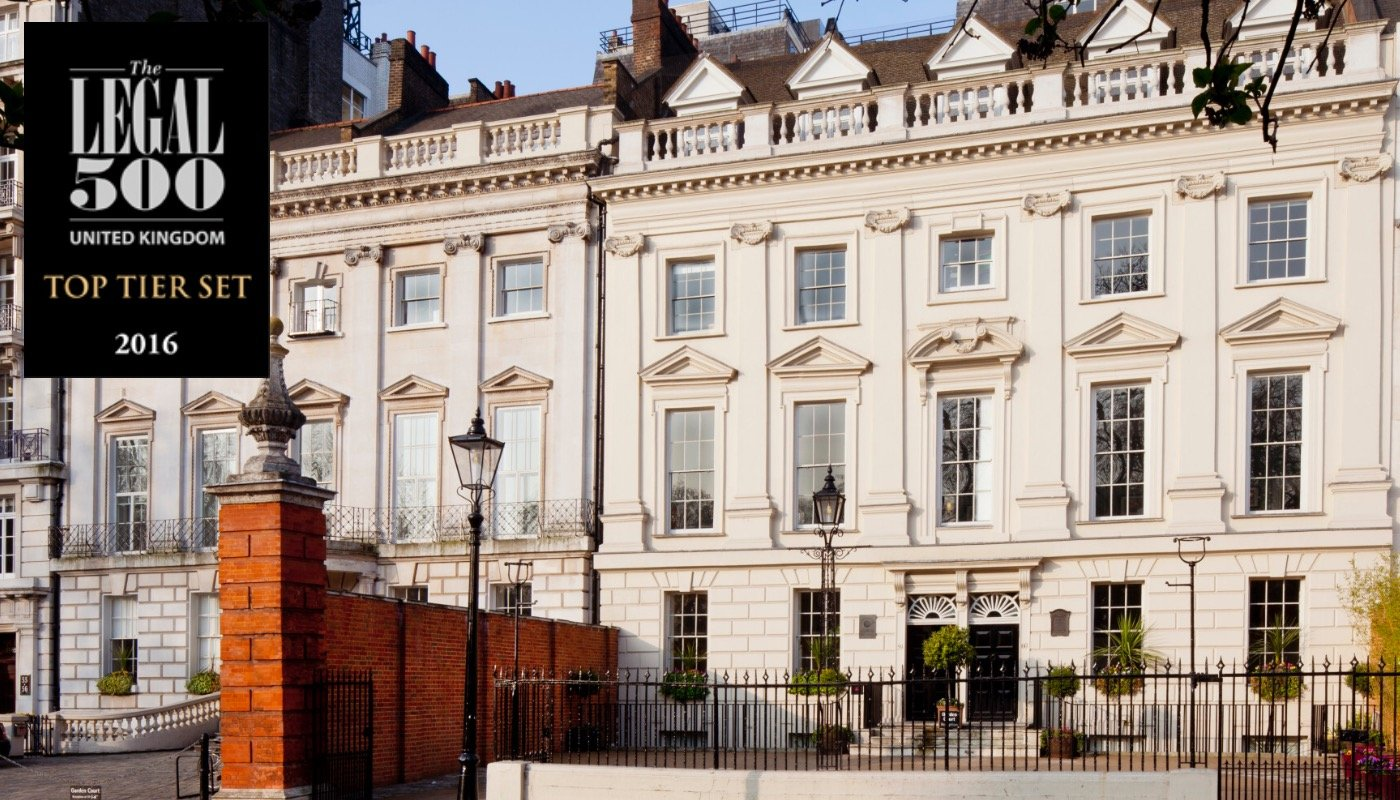 Garden Court Chambers immigration team retains top ranking in Legal 500