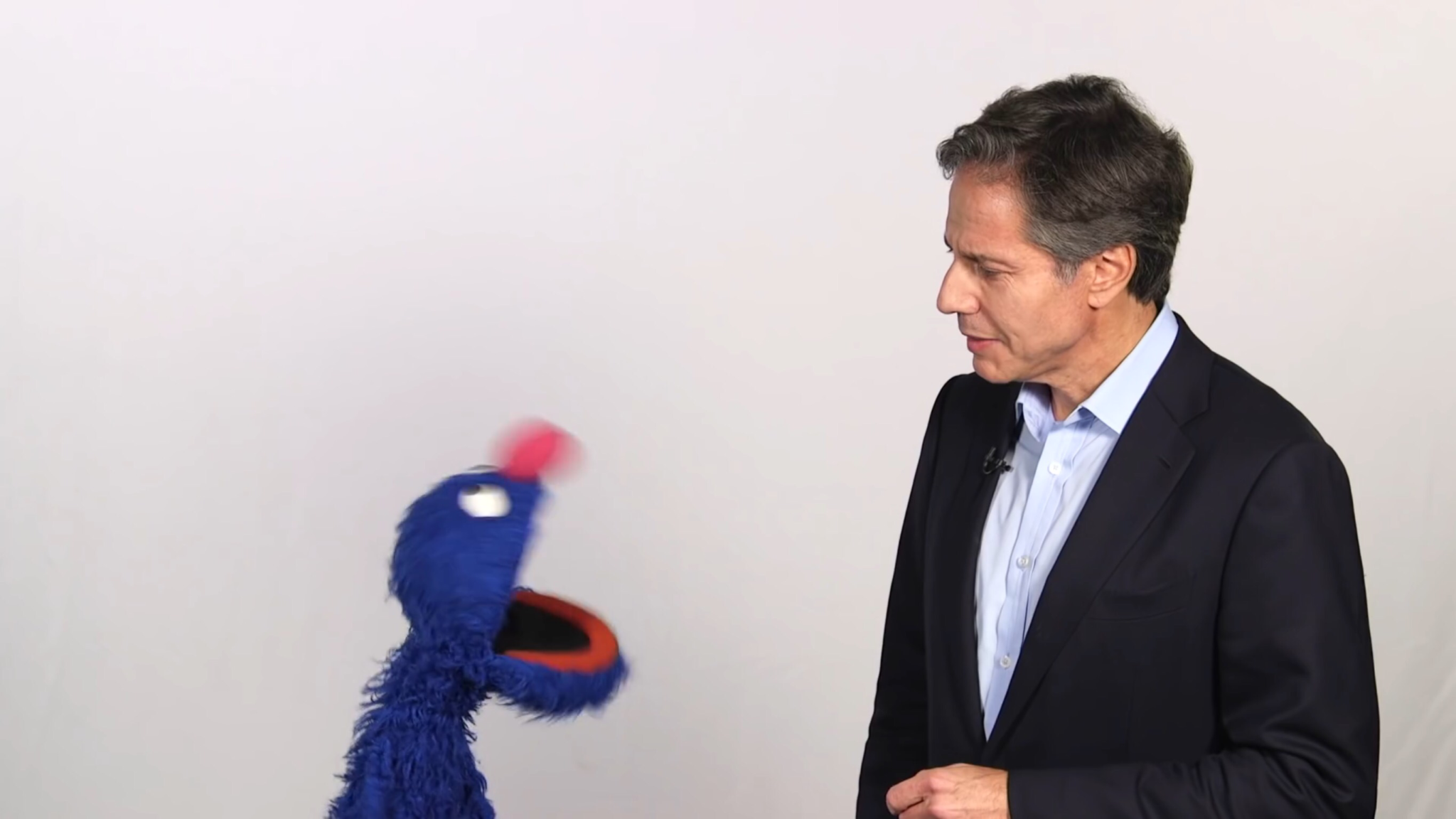 Sesame Street's Grover explains about refugees