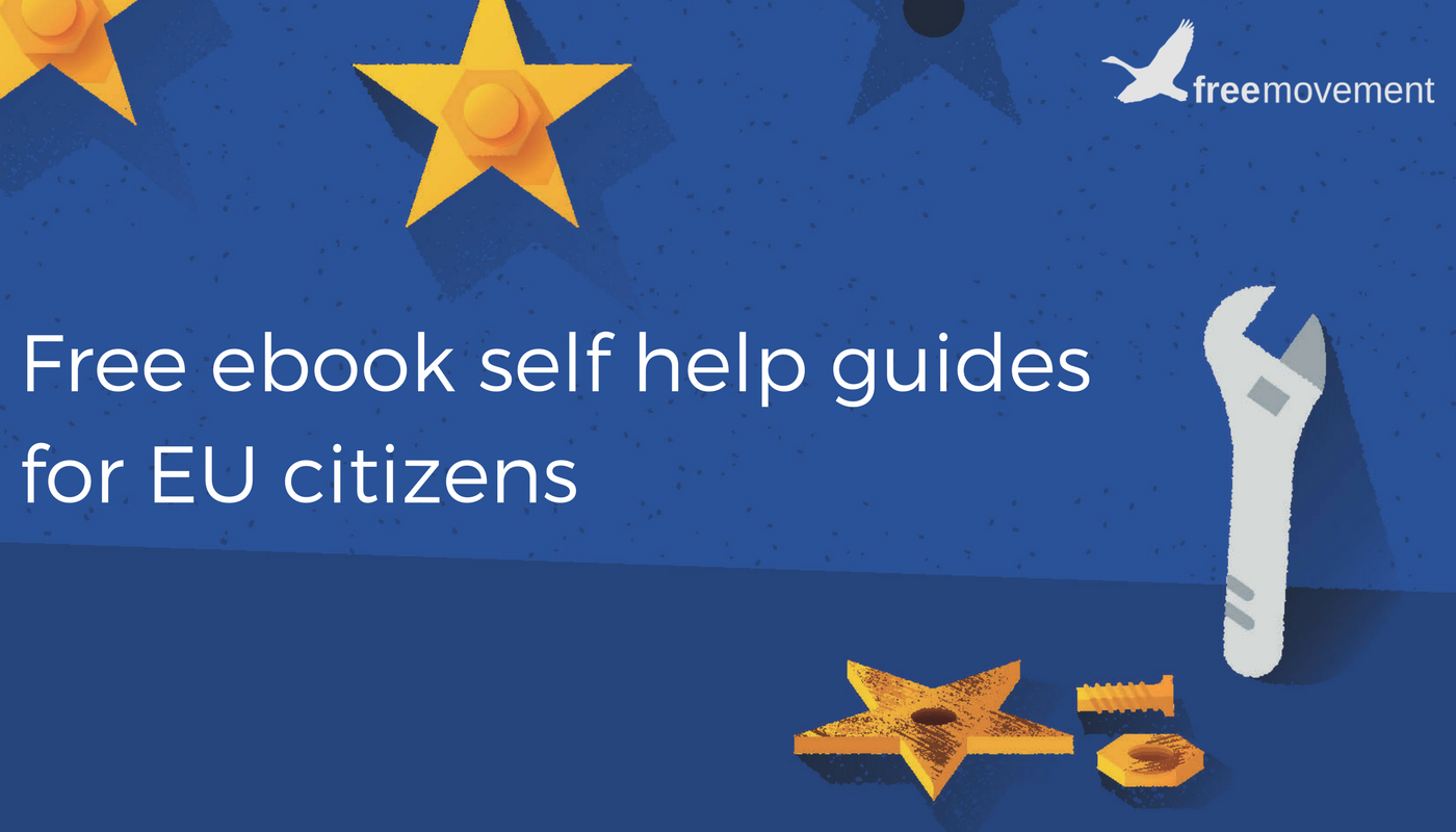 Free ebook application guides for EU citizens: updated