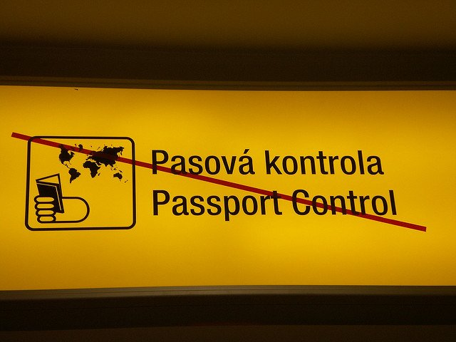 Czech passport control