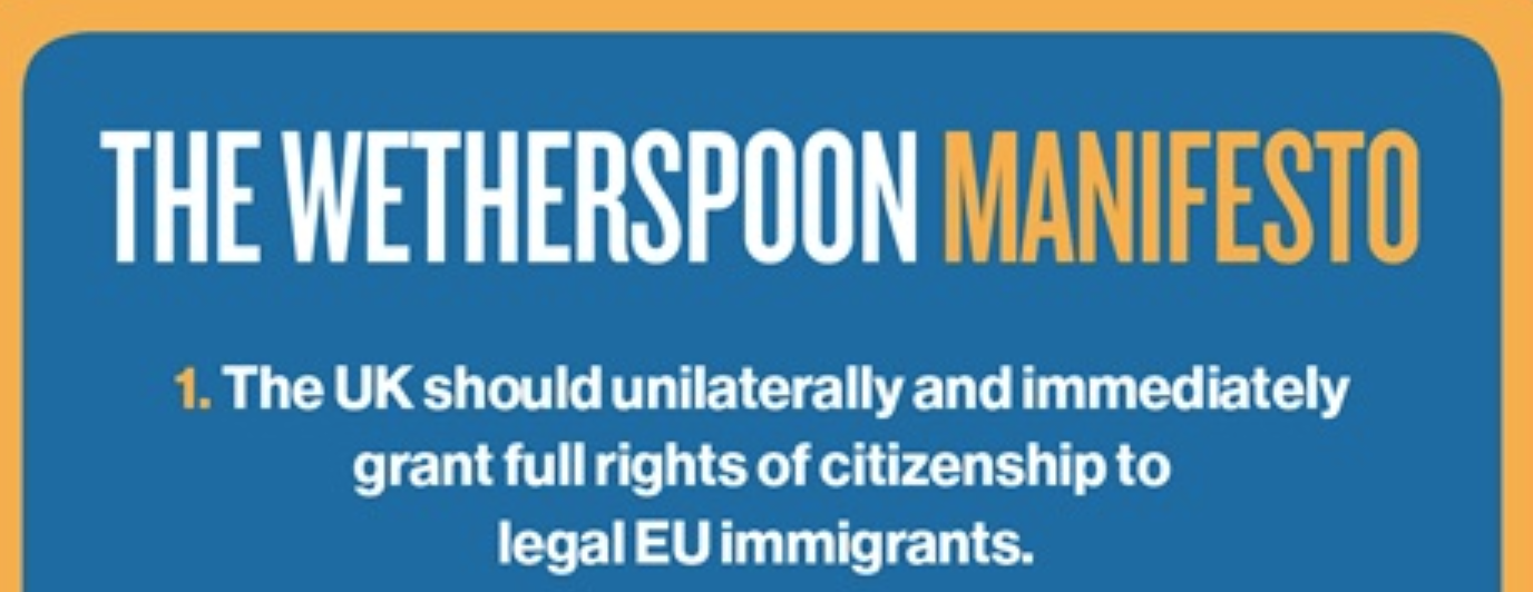 Spoons backs citizens' rights