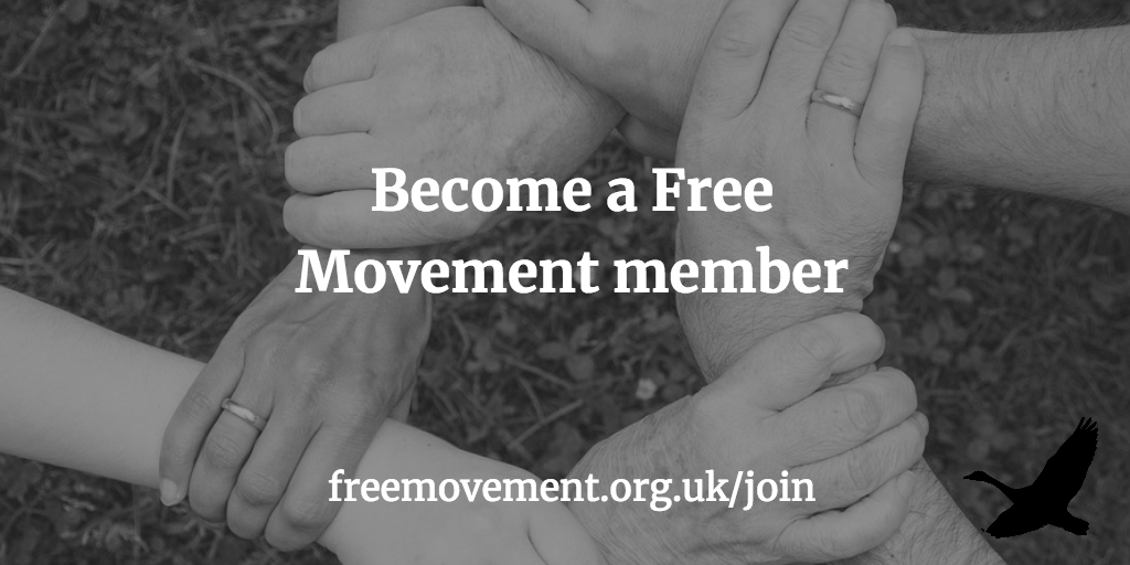 Old Free Movement content now members-only
