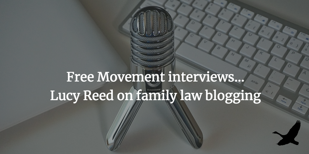 Interview: Lucy Reed on family law blogging