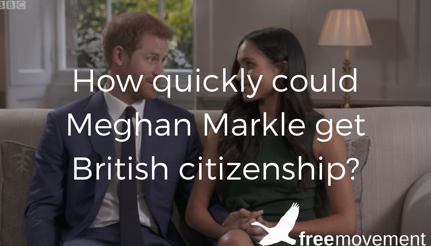 How quickly could Meghan Markle get British citizenship and what are the requirements?