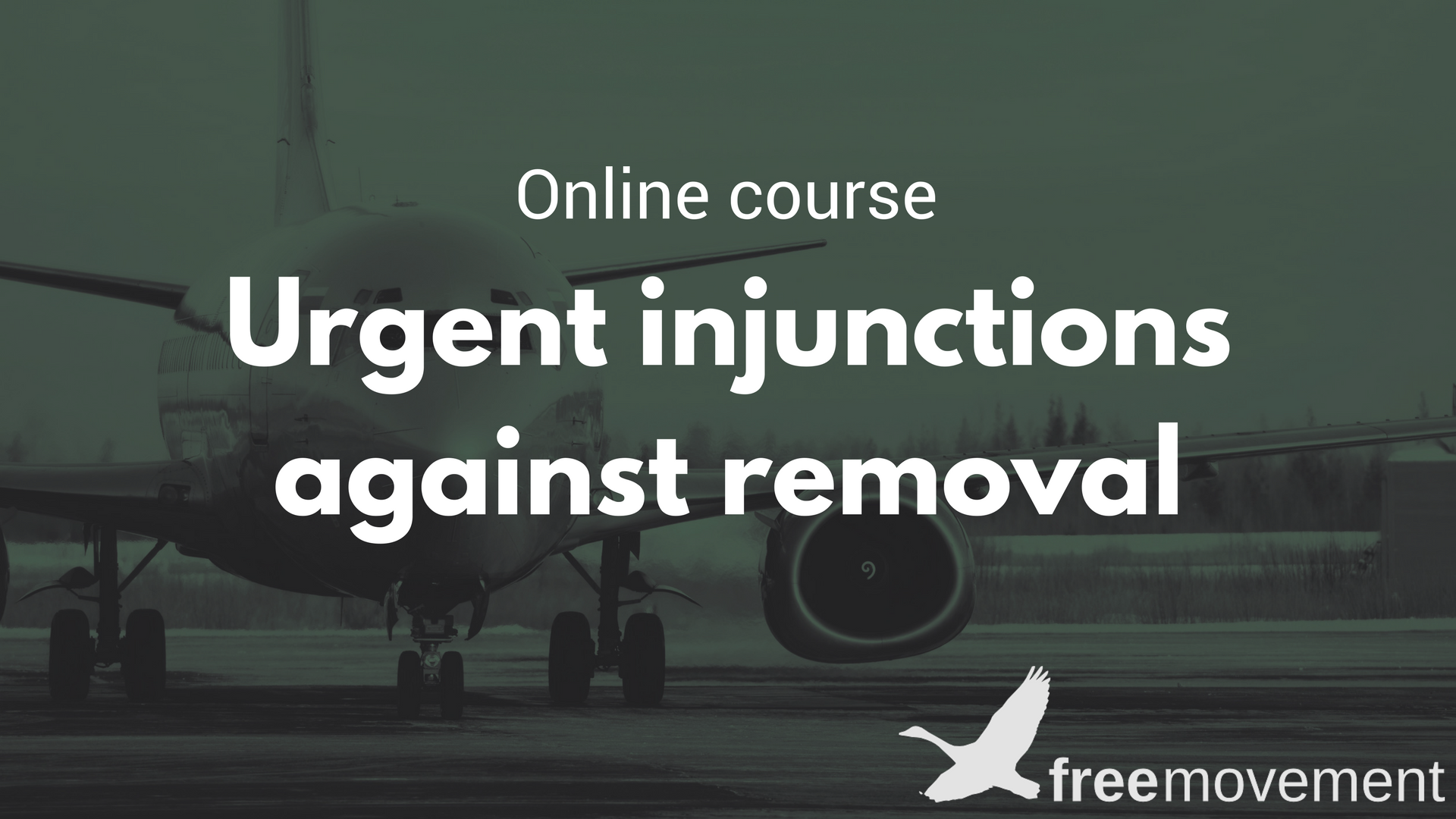 Urgent injunctions course