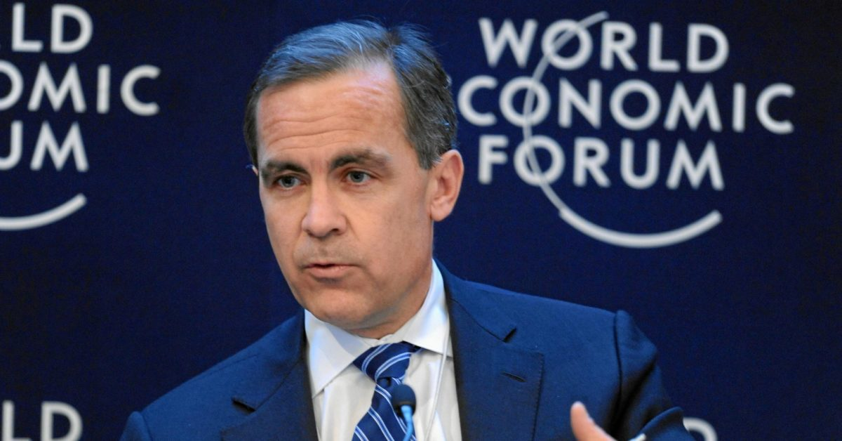 Mark Carney banks British citizenship