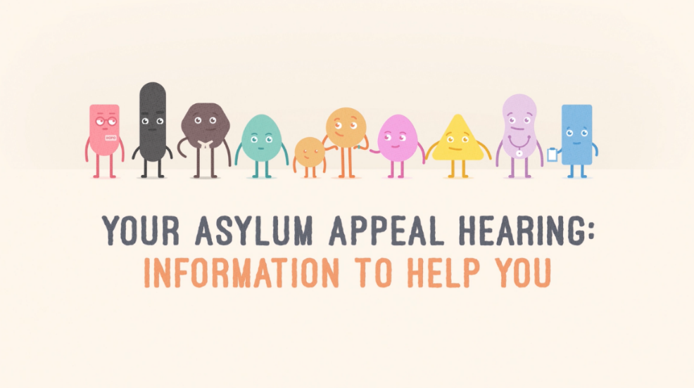 Asylum Aid releases new film for asylum appellants