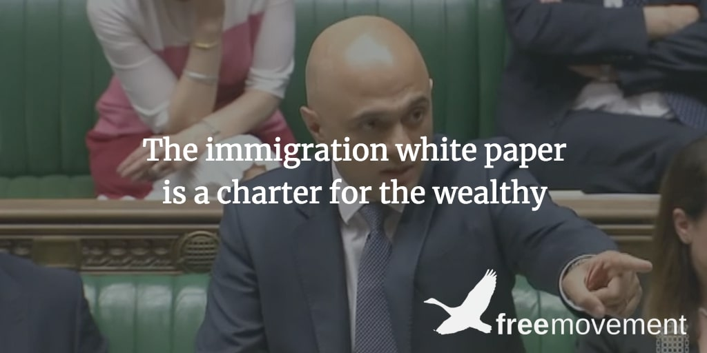 The immigration white paper is a charter for the wealthy
