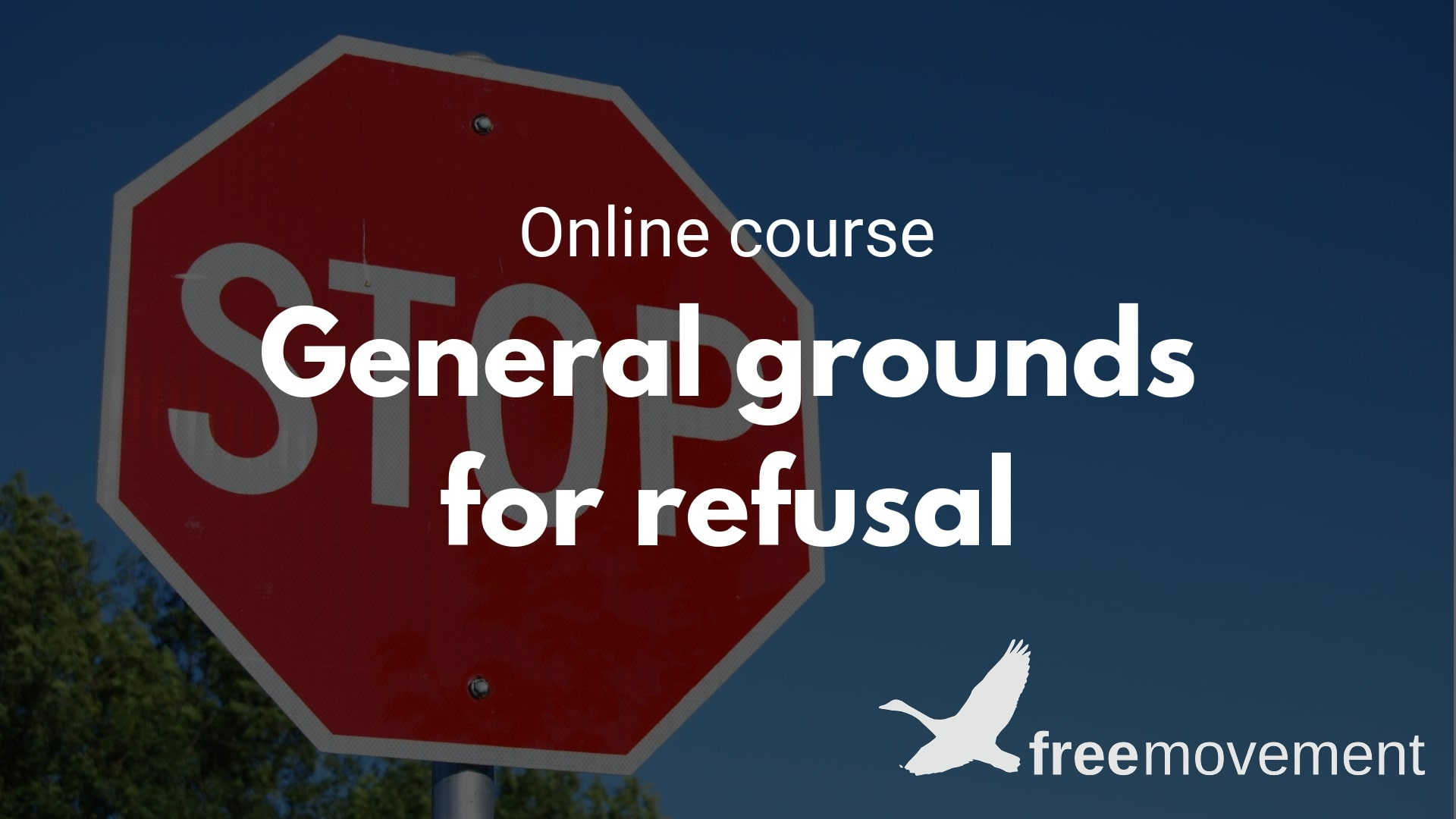 General grounds for refusal