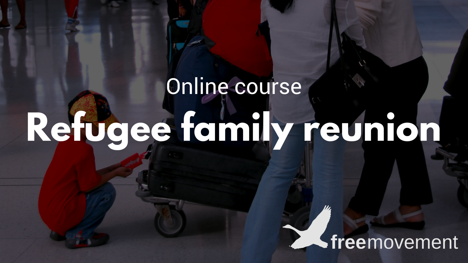 Refugee family reunion course
