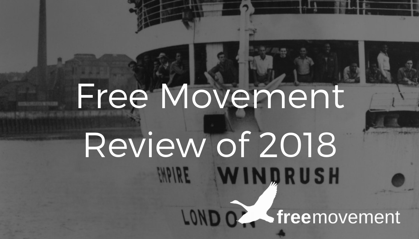 Free Movement review of the year 2018