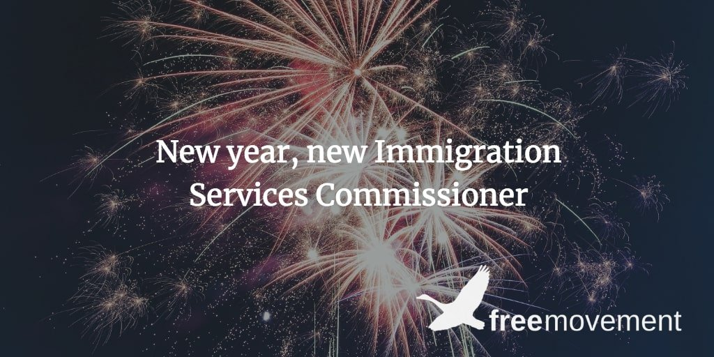 New year, new Immigration Services Commissioner