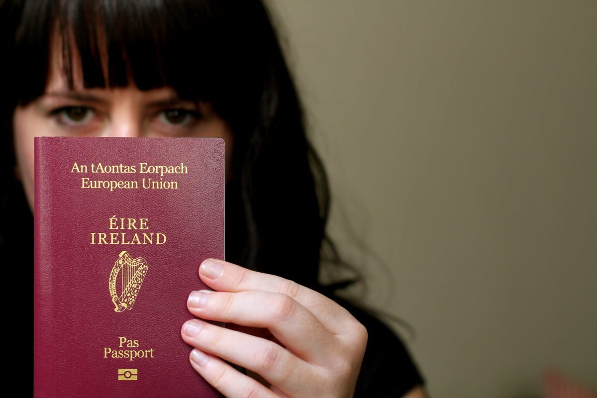 Good Friday Agreement doesn't stop Northern Irish people being born automatically British