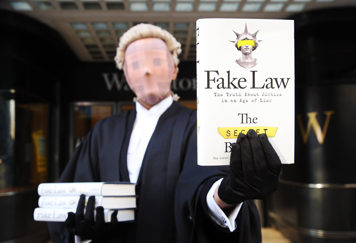 Book review: Fake Law by the Secret Barrister