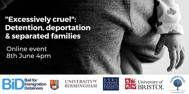 Report launch 8 June: deportability and UK families