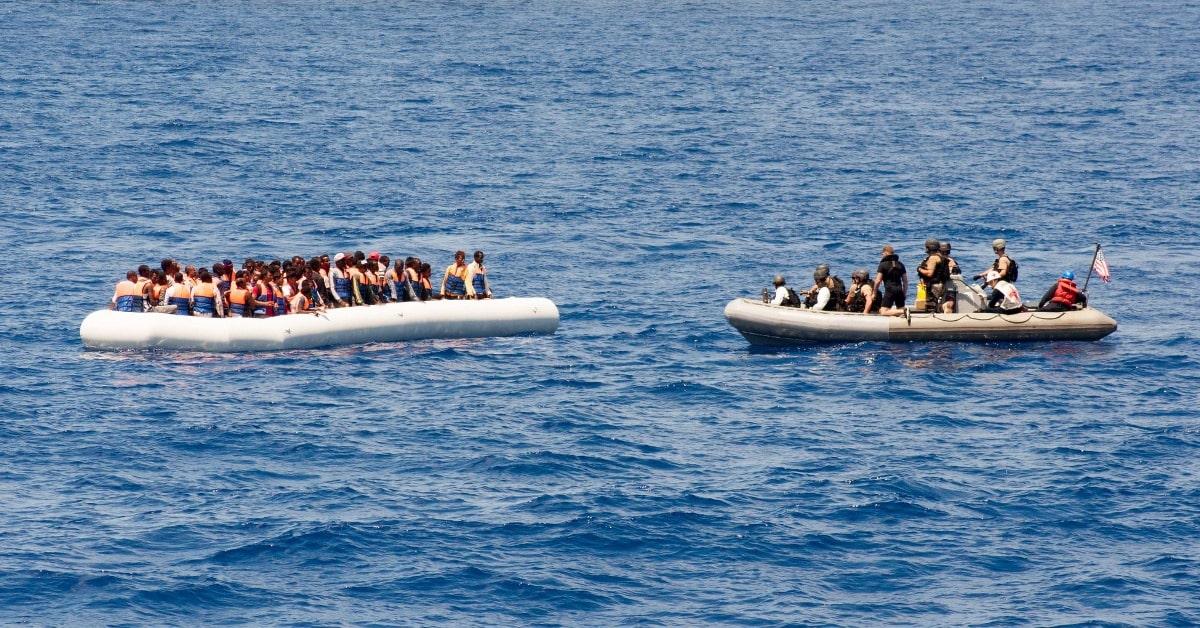 Borders Bill to make asylum seeking a crime
