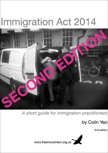 Immigration Act 2014 2nd ed cover